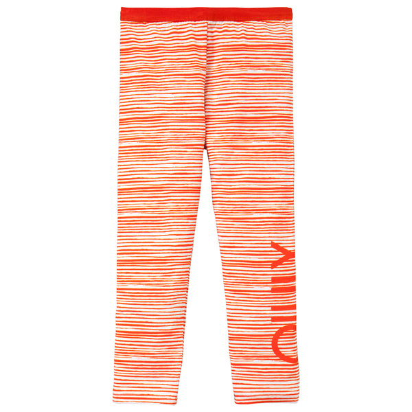 Oilily - Girls Orange 'Taski' Leggings-Legging-Sweet Peas Kidswear