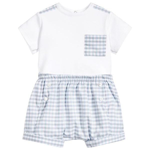 Absorba - Baby Boys 2 Piece Outfit-Outfit Set-Sweet Peas Kidswear