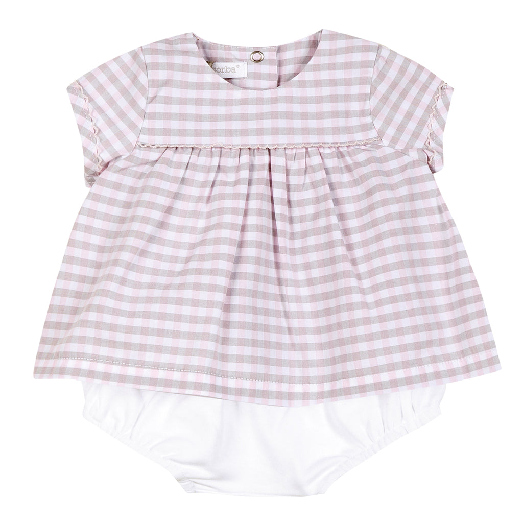 c312c17b Absorba - Baby Girls Two Piece Outfit-Outfit Set-Sweet Peas Kidswear
