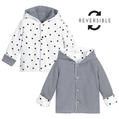 Absorba - Reversible Baby Girls Pram Coat