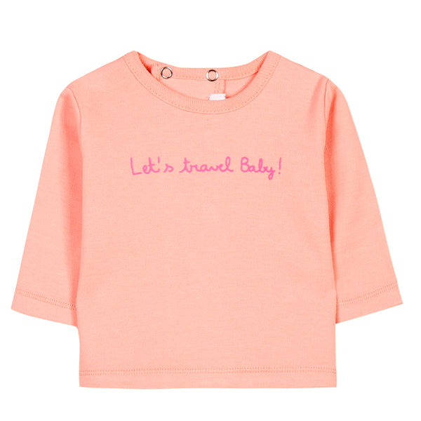 Absorba x La Cerise sur le Gâteau - 'Lets Travel Baby' T-shirt Collection-T-Shirt-Sweet Peas Kidswear