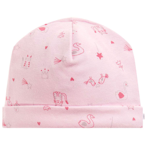 Absorba - Baby Girls Pink Cotton Hat-Hat-Sweet Peas Kidswear