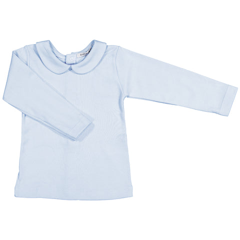 Babidu - Boys Long Sleeved Ruffle Collar T-Shirt-T-Shirt-Sweet Peas Kidswear