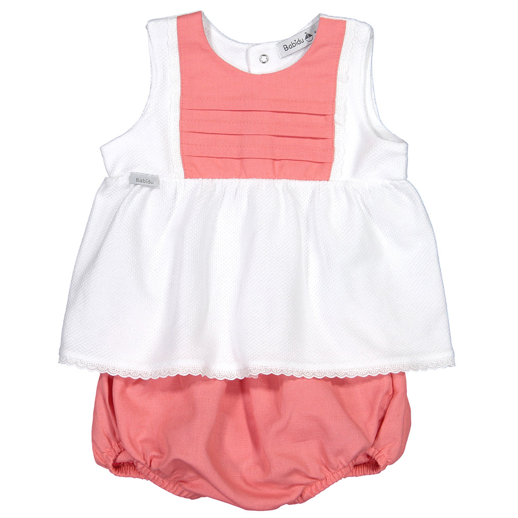 bf23451f7f66 Babidu - Baby Girls 2 Piece Shorts Outfit-Outfit Set-Sweet Peas Kidswear