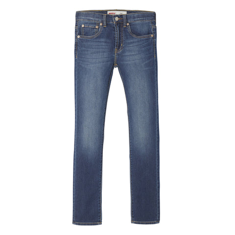 Levi's - 510 Skinny Distressed Blue Jog Jeans