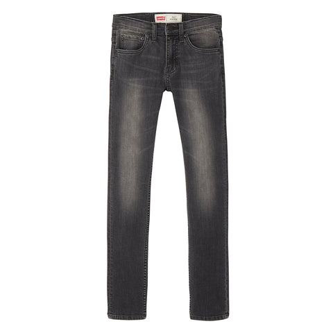 Levi's - 512 Slim Tapered Faded Black Jeans-Jeans-Sweet Peas Kidswear