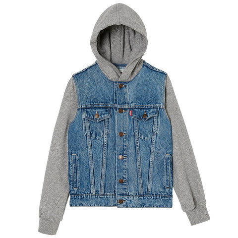 Levi's - Boys Blue Denim Jacket-Coat-Sweet Peas Kidswear
