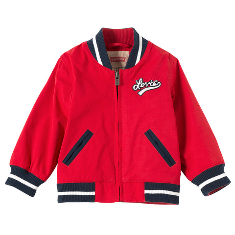 Levi's - Baby Boys Red Bomber Jacket