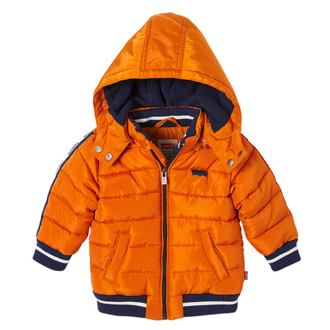 Levi's - Autumn Maple Padded Coat with Detachable Hood-Coat-Sweet Peas Kidswear