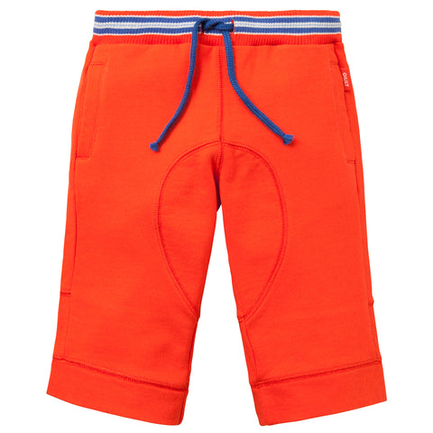 Oilily - Boys Orange Halbert Cotton Sweat Shorts-Jumper-Sweet Peas Kidswear