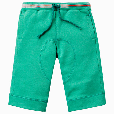 Oilily - Boys Green Halbert Cotton Sweat Shorts-Jumper-Sweet Peas Kidswear
