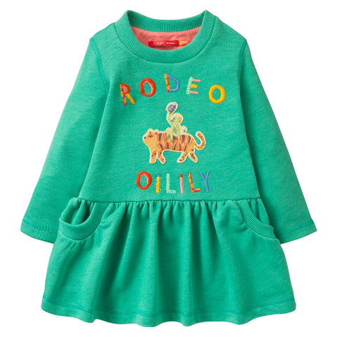 Oilily - Girls 'Helena' Long Sleeved Jumper Dress
