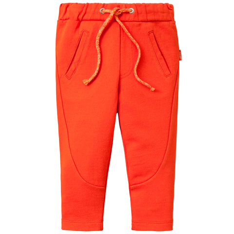Oilily - Girls Orange Horizon Sweatpants-Jogging Bottoms-Sweet Peas Kidswear