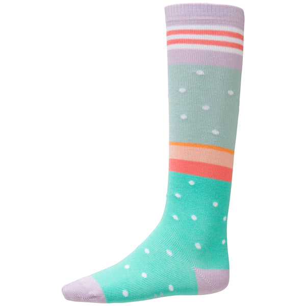 Oilily - Girls Mercredi Stripes and Dots Knee Socks-Socks-Sweet Peas Kidswear