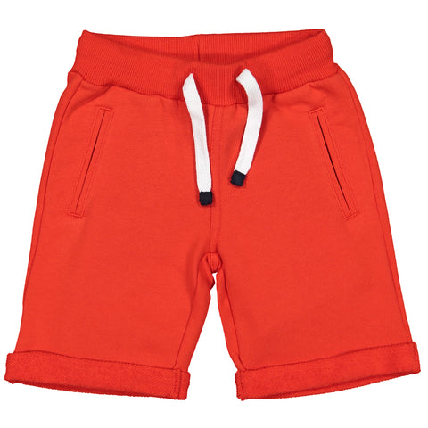 Week-End á La Mer - Boys Orange Jersey Shorts-Shorts-Sweet Peas Kidswear
