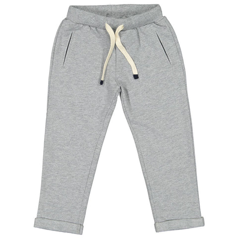 Week-End á La Mer - Boys Grey Jersey Trousers-Trousers-Sweet Peas Kidswear