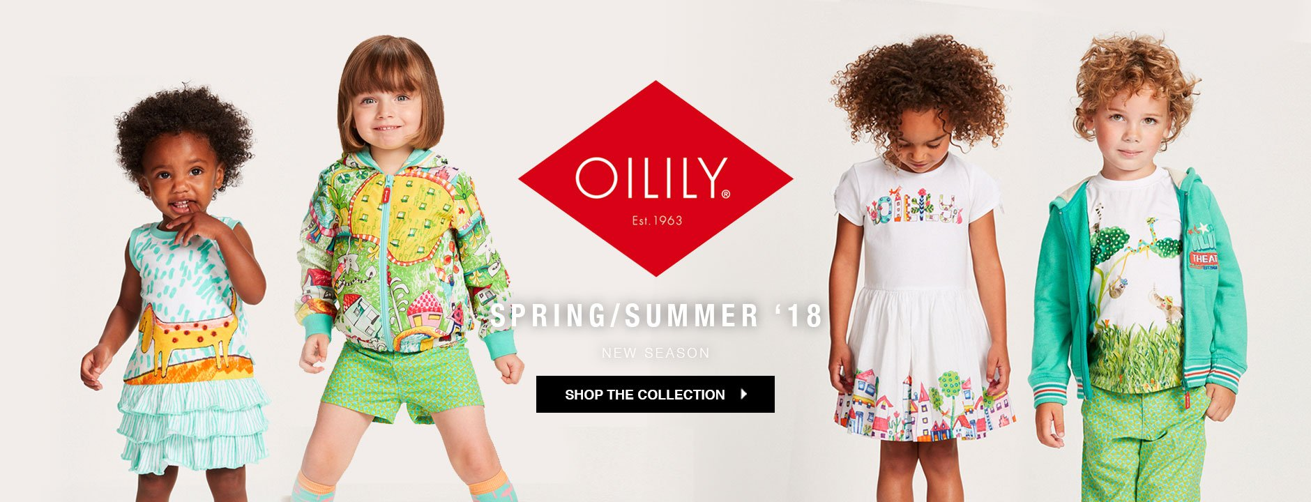 Oilily spring summer 18 collection