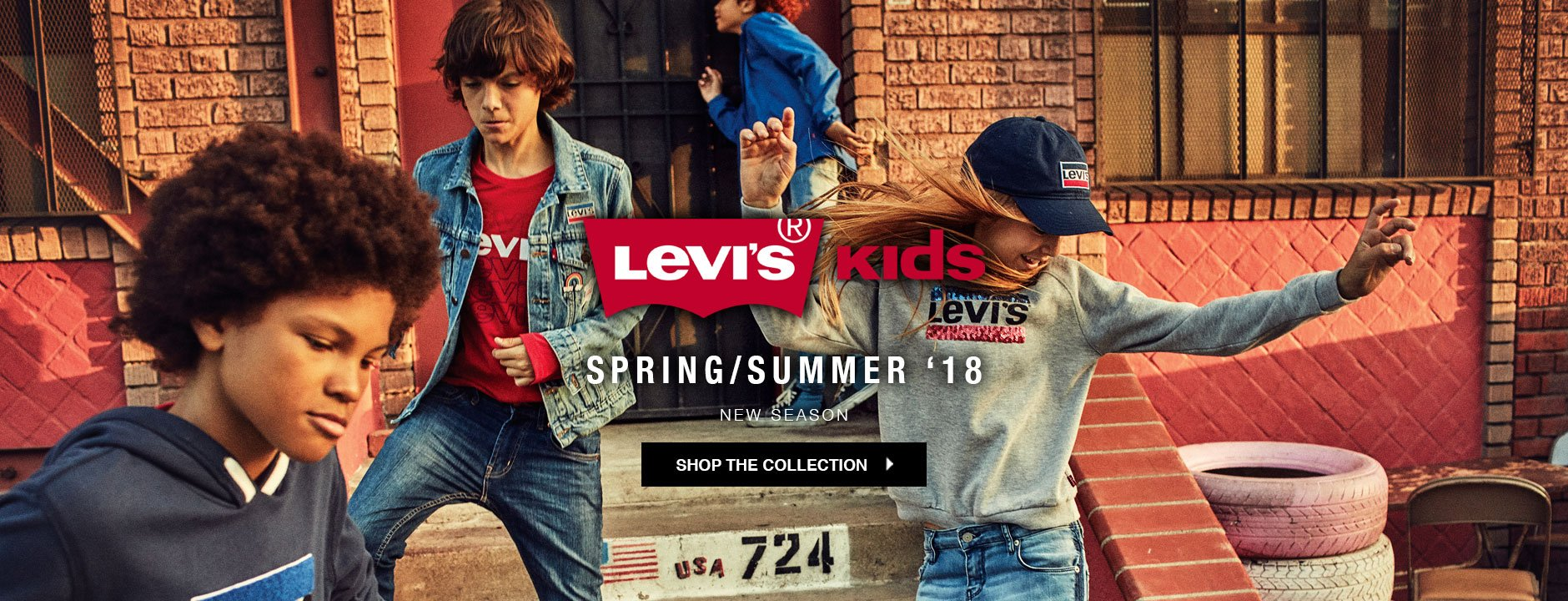 Levis kids Spring / Summer 2018 collection