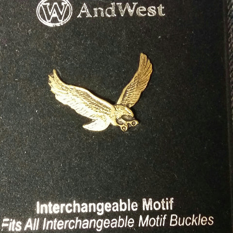 AndWest Gold Plated Interchangeable Motif Eagle