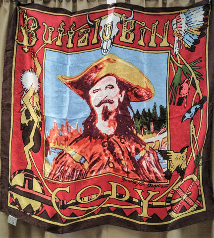 Buffalo Bill Cody Silk Scarf