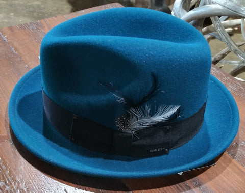 Bailey Tino Fedora in Teal