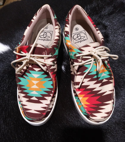 Miami Shoes Bruh-1 in Aztec Orange
