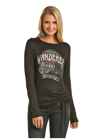 Rock & Roll long sleeve Tee