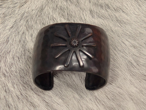 Copper Spur Cuff