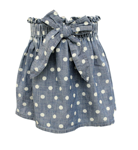 BLU & BLUE TODDLER MINNIE POLKA DOT SKIRT