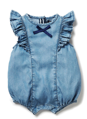 BLU & BLUE INFANT BABY ROMPER