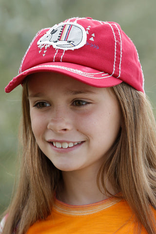 Cruel Girl GIRL'S ARMADILLO BASEBALL HAT