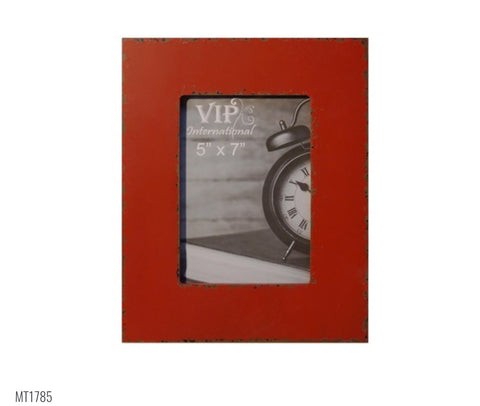 "5""x7"" Red Picture Frame"