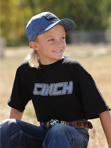 Cinch Boy Tee Black