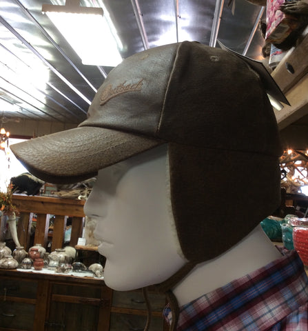 Outback Trading Co. Mckinley Cap in Leather