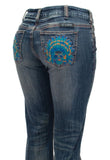Cowgirl Tuff Sweet Chiefs Boot Cut Jeans