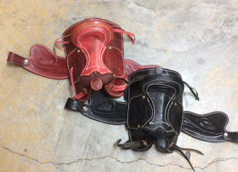 Small Leather Saddles