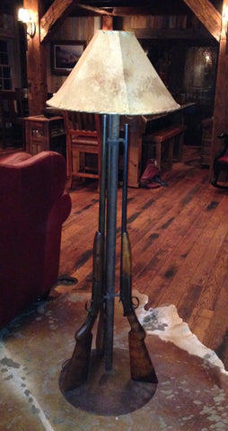 Shotgun Floor Lamp