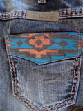 "Cowgirl Tuff ""Autumn Breeze"" Boot Cut Jeans"