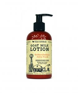 FREDERICKSBURG JUICY PEACH GOAT MILK LOTION