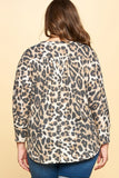 Leopard top plus
