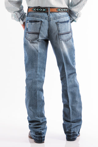 Cinch Light Stonewash Grant Jean