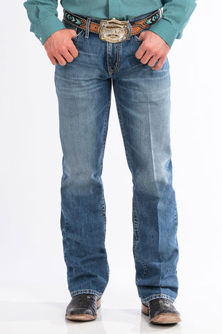Cinch Medium Stonewash Relaxed Grant Jean