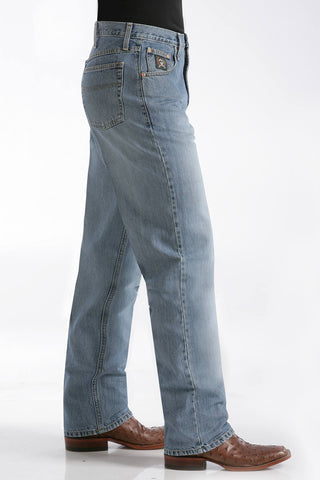 Cinch Dark Stonewash Black Label Jean