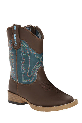 Double Barrel Open Range Boys Boots