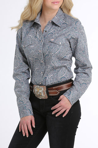 Cinch Long sleeve Button up Shirt