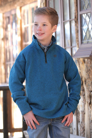 Cinch Boys Blue Pullover