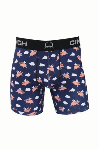 "Cinch Boxer Briefs 6"" When Pigs Fly"