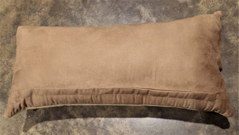 NATURAL HAIRLESS COWHIDE LUMBAR PILLOW