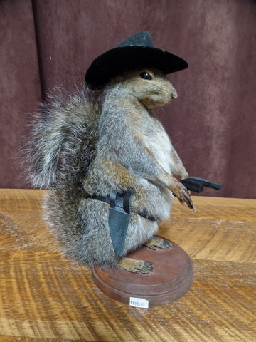 Rowdy Squirrel Mount