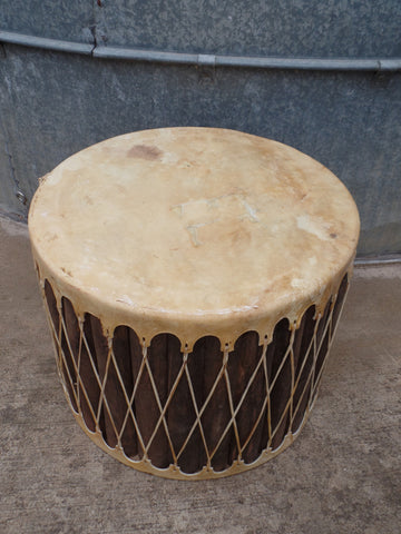 Mexican Drum Side Table